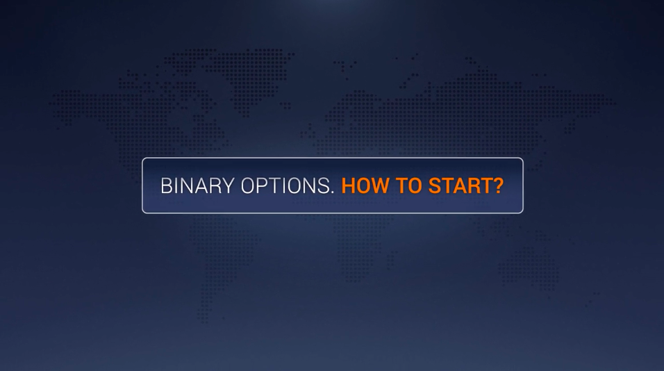 How to start binary options