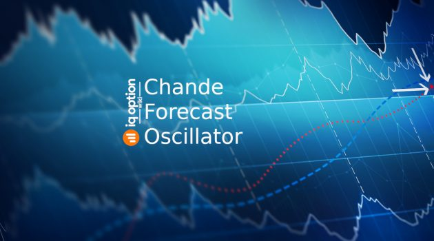 Chande Forecast Oscillator on IQ Option