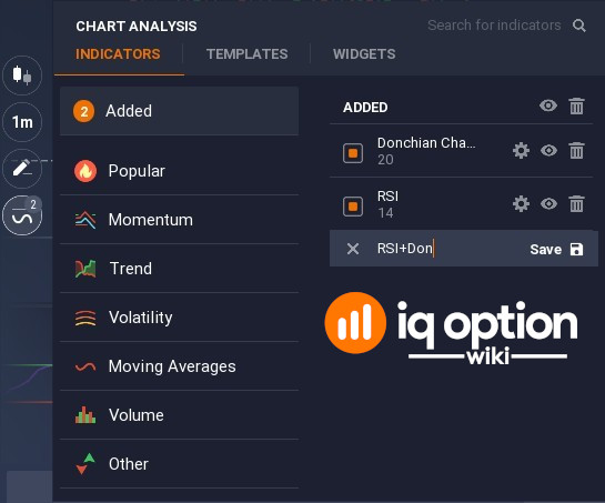 You can always save indicators set as a chart template