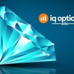 diamond pattern on IQ Option platform