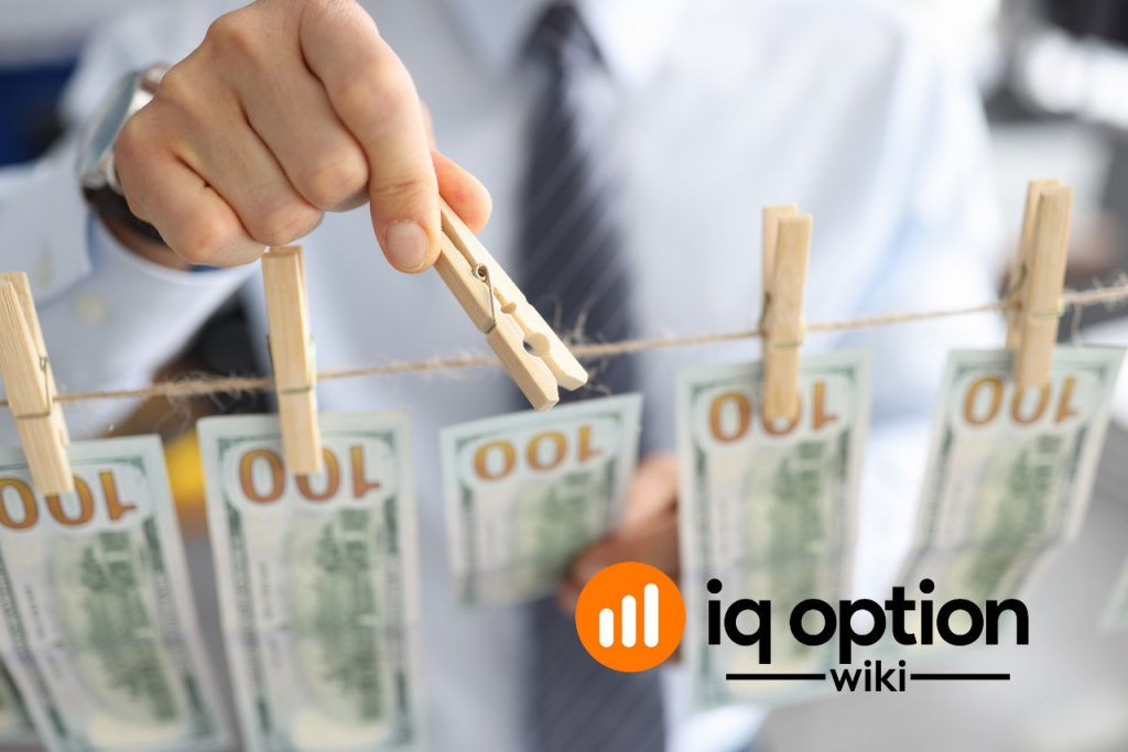 IQ Option can block account to prevent money laundering